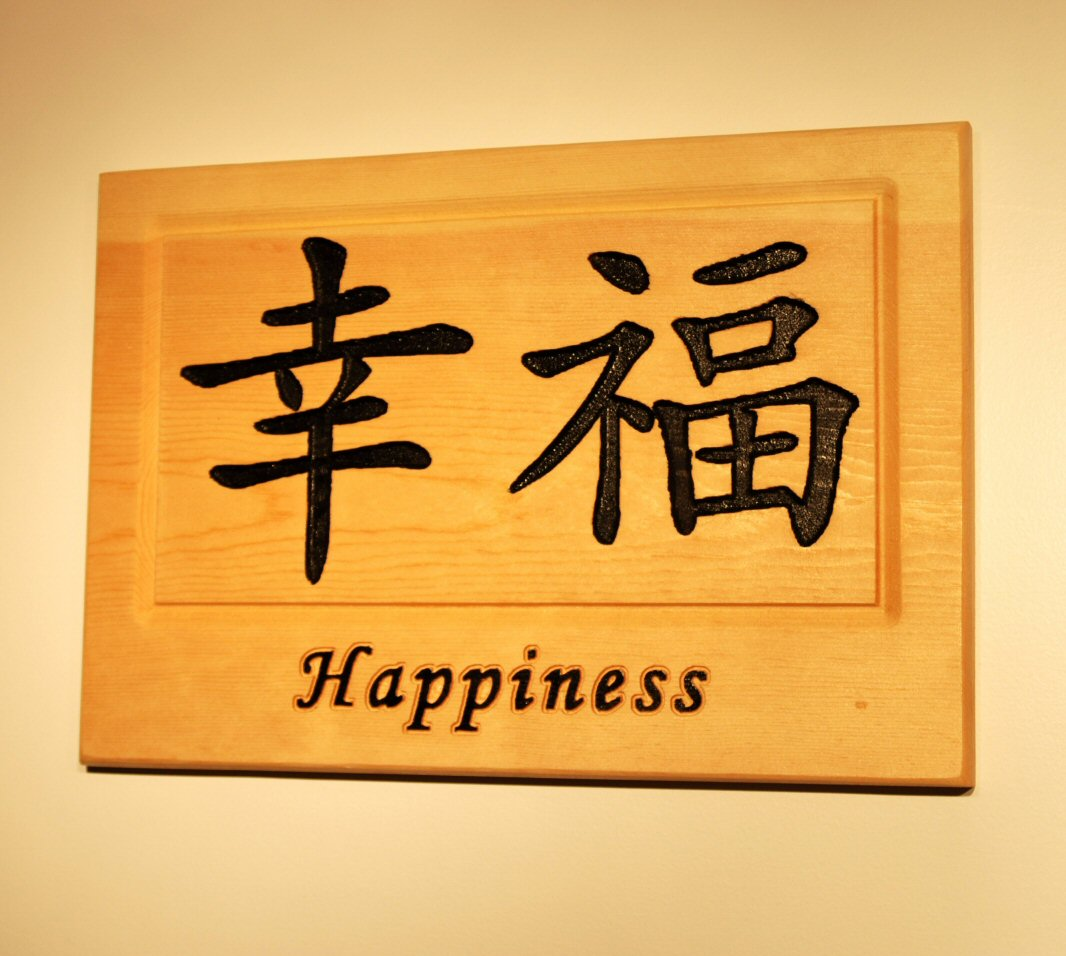 Chinese symbol for Happiness