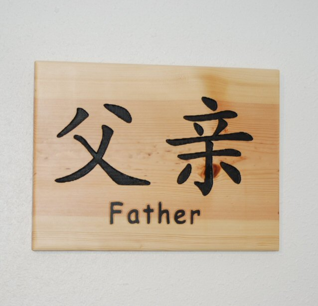 Chinese symbol for Father